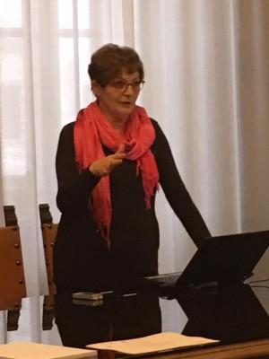 Maria Grazia Giannini presidente de Il Bucaneve