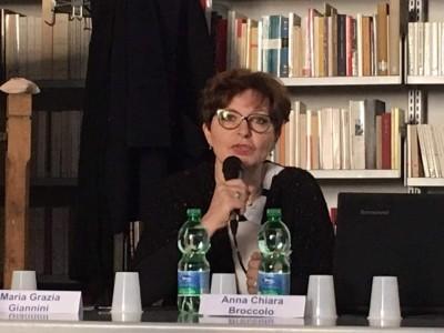 Maria Grazia Giannini presidente de Il Bucaneve e Consult@noi